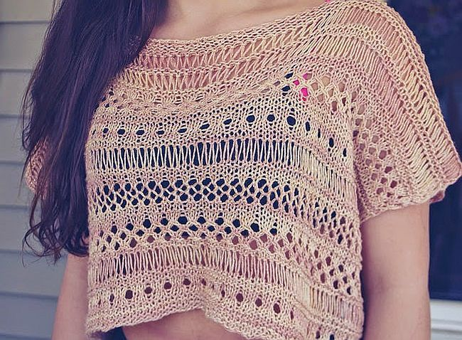 Refresh Your Wardrobe With These Stylish Summer Knitting Patterns