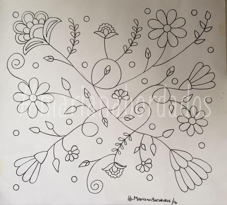 Resultado de imagen para dibujos para bordado mexicano | EMBROIDERY ...