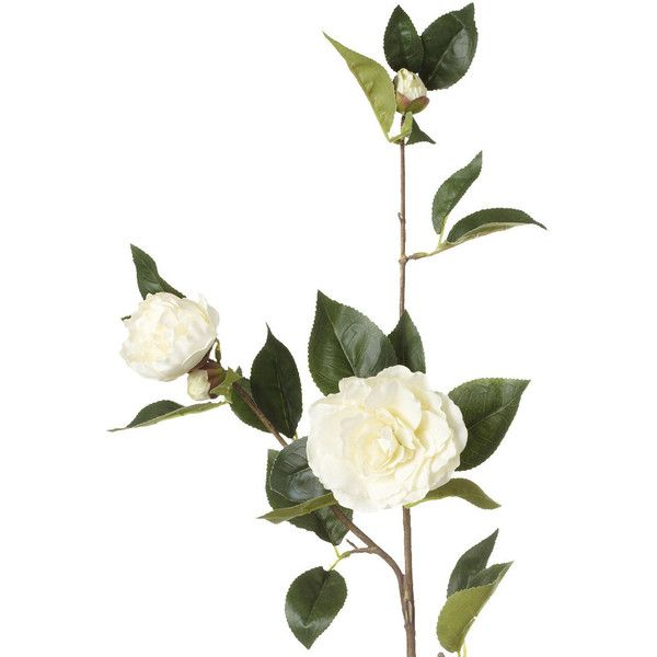 Oka Artificial Camellia Flower Stem Small Camellia Flower Artificial Flower Arrangements Artificial Flowers
