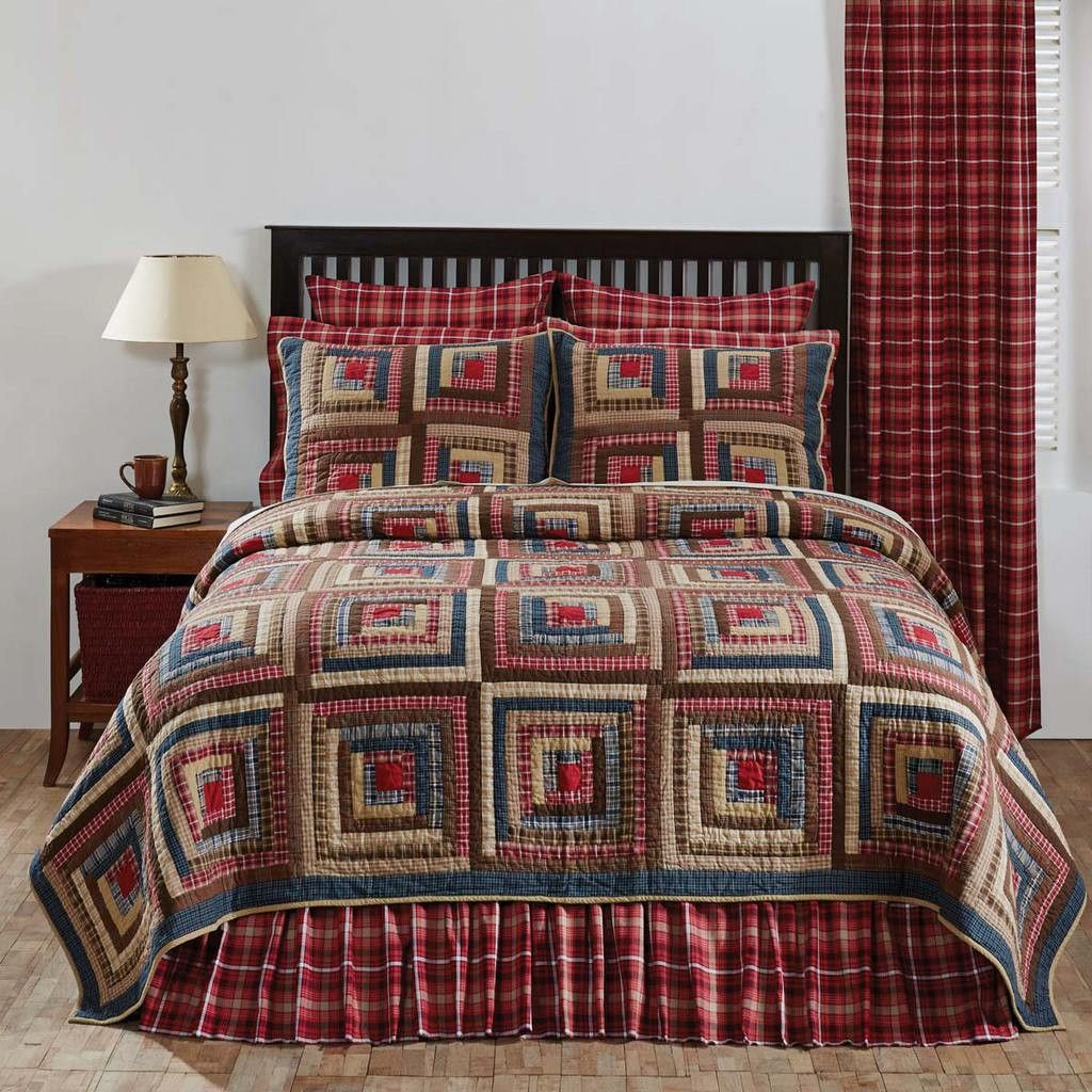 Braxton Quilt in 4 SIZES Country Style