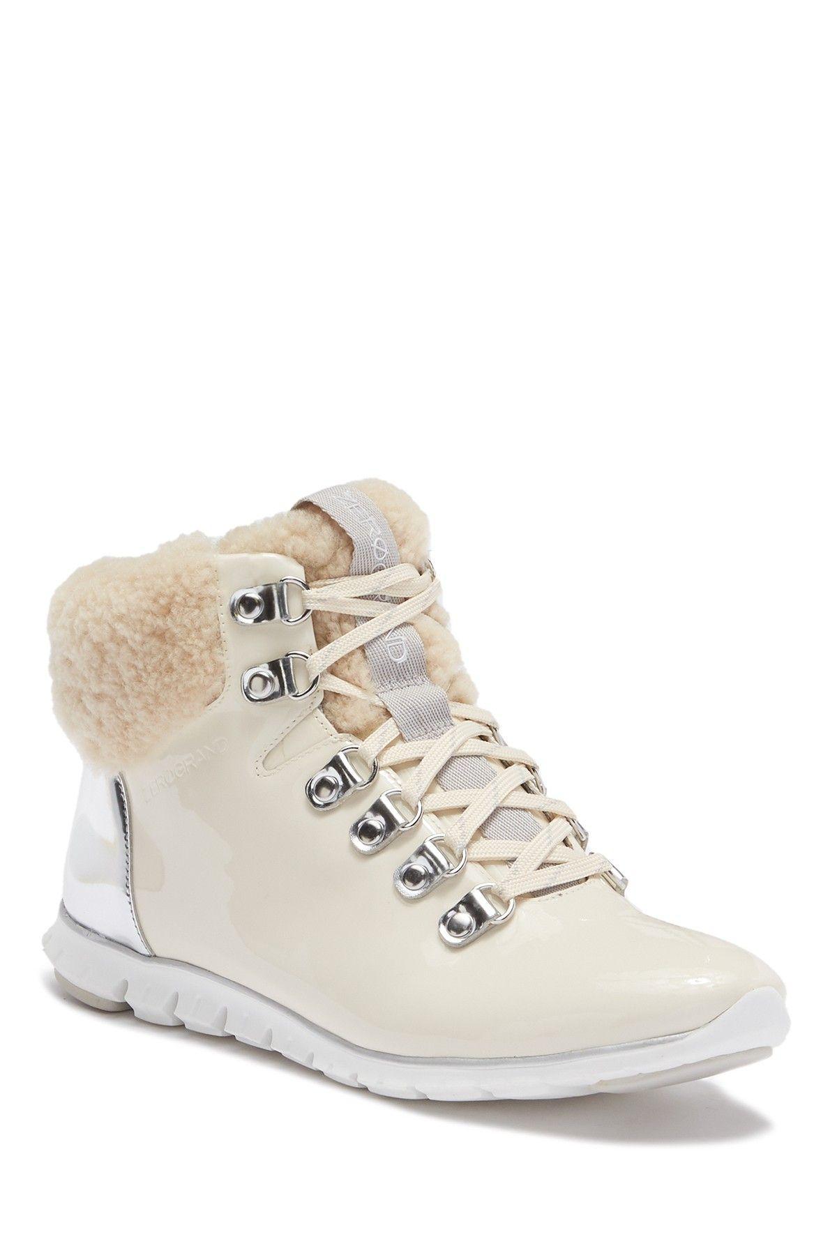 e53ba349ab1 Image of Cole Haan Zerogrand Genuine Shearling Waterproof Hiker Boot