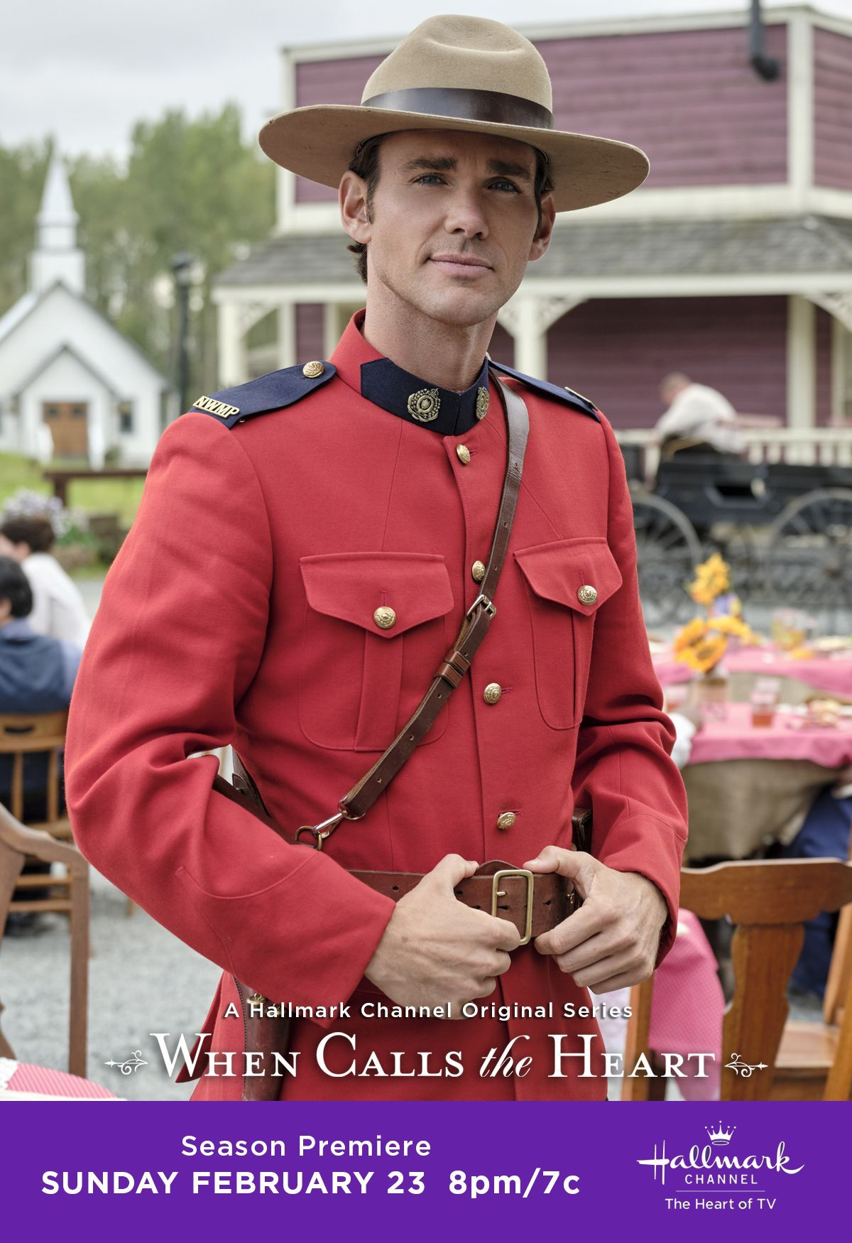 How Do I Watch When Calls The Heart 2020 Christmas Special Will Elizabeth fall for Constable Nathan Grant (Kevin McGarry