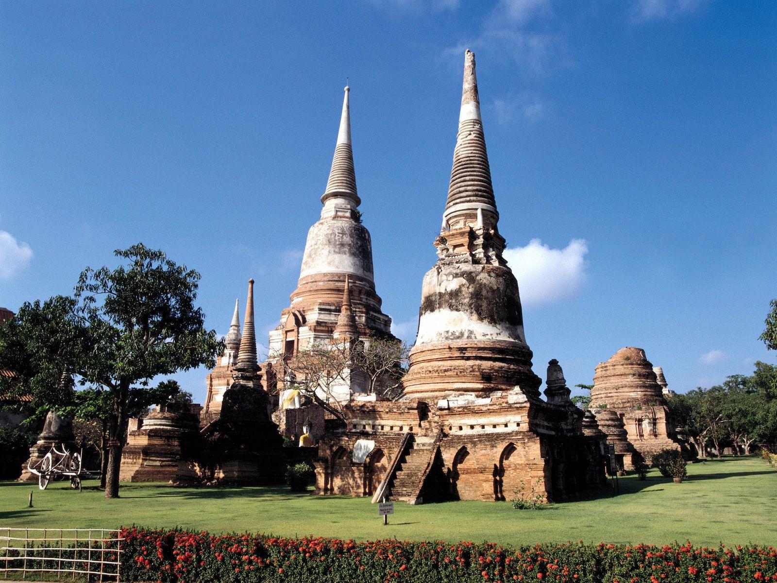 old three pagota