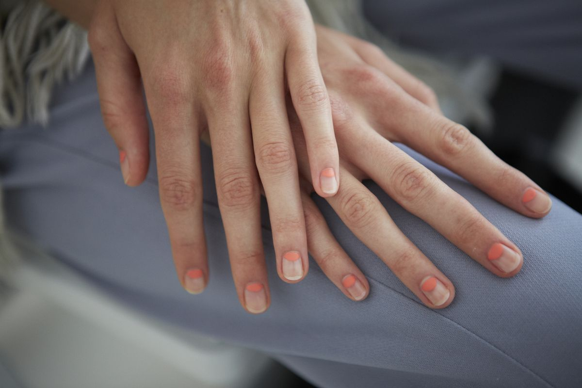 the nail polishes everyone will be wearing next spring moon nails