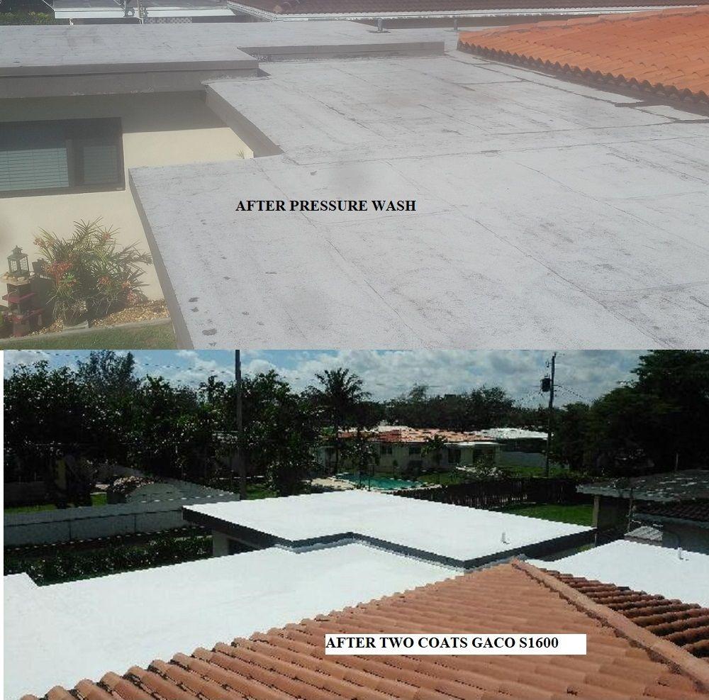 Roof Coating In Miami Roof Coating Elastomeric Roof Coating Membrane Roof