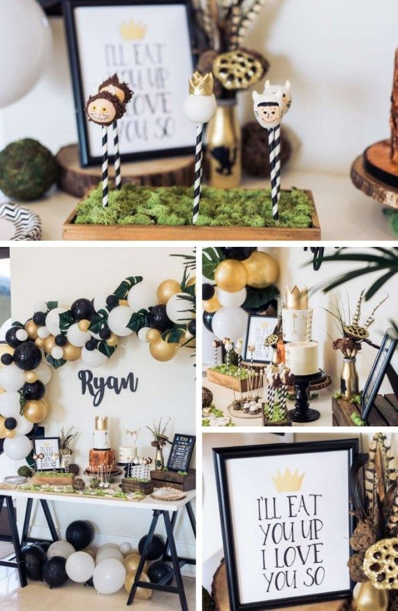 Where the Wild Things Are Party Collection - Birthday Party Ideas for Kids and Adults