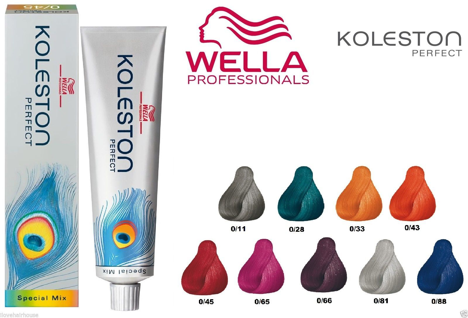 Wella Koleston Perfect 100 Genuine Special Mix Range Permanent