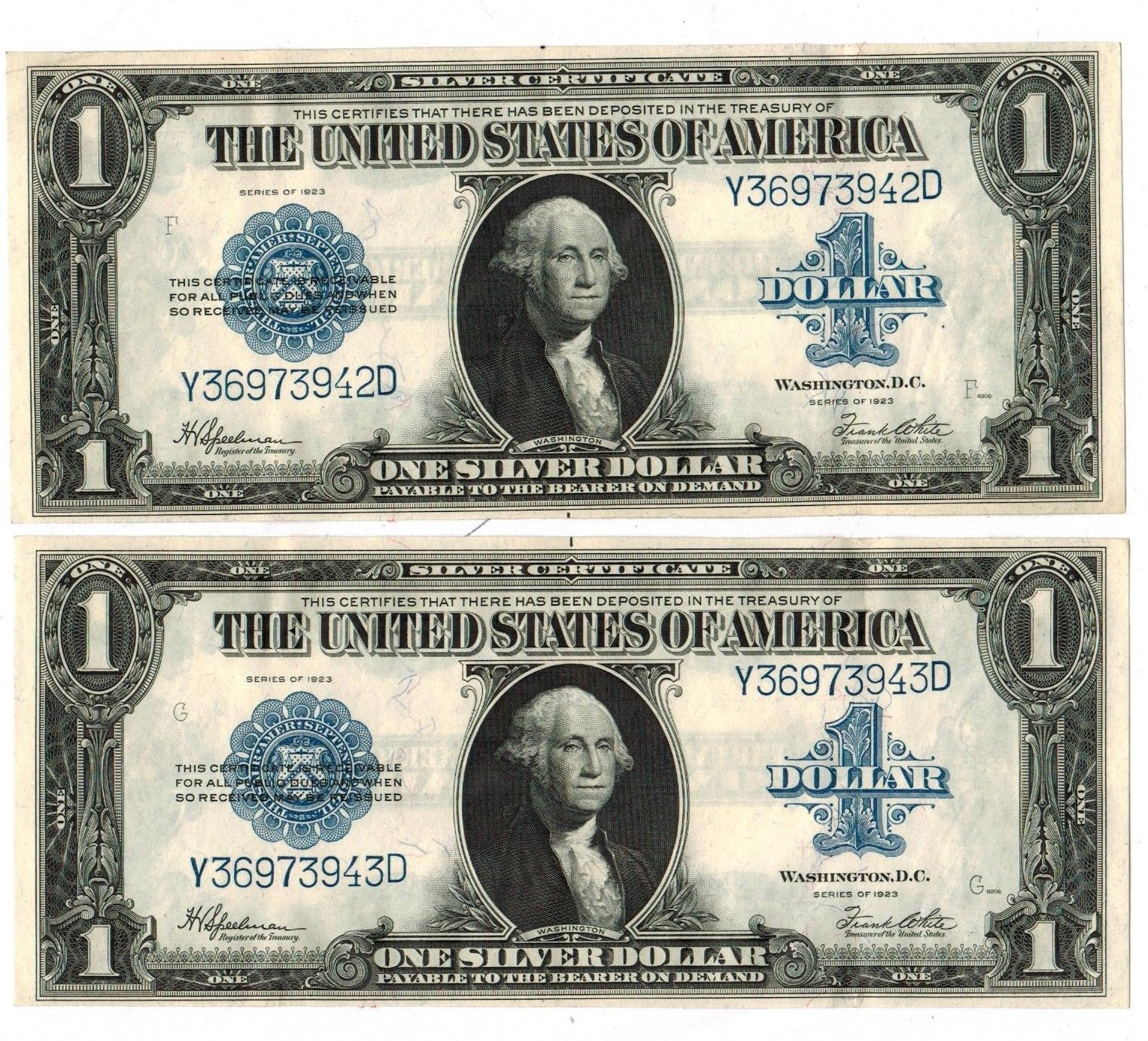 Silver certificate value 1935 g best design sertificate 2017 u s silver certificate 1 1935 collectors weekly xflitez Choice Image