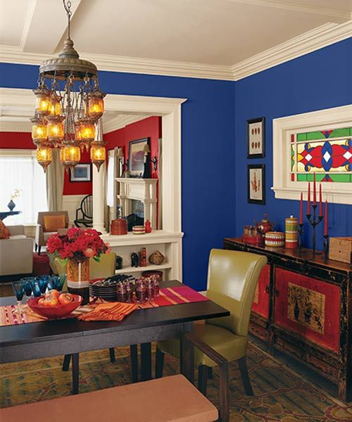 Warm Dining Room Colors: Color Of The Month, April 2016: Snorkel Blue