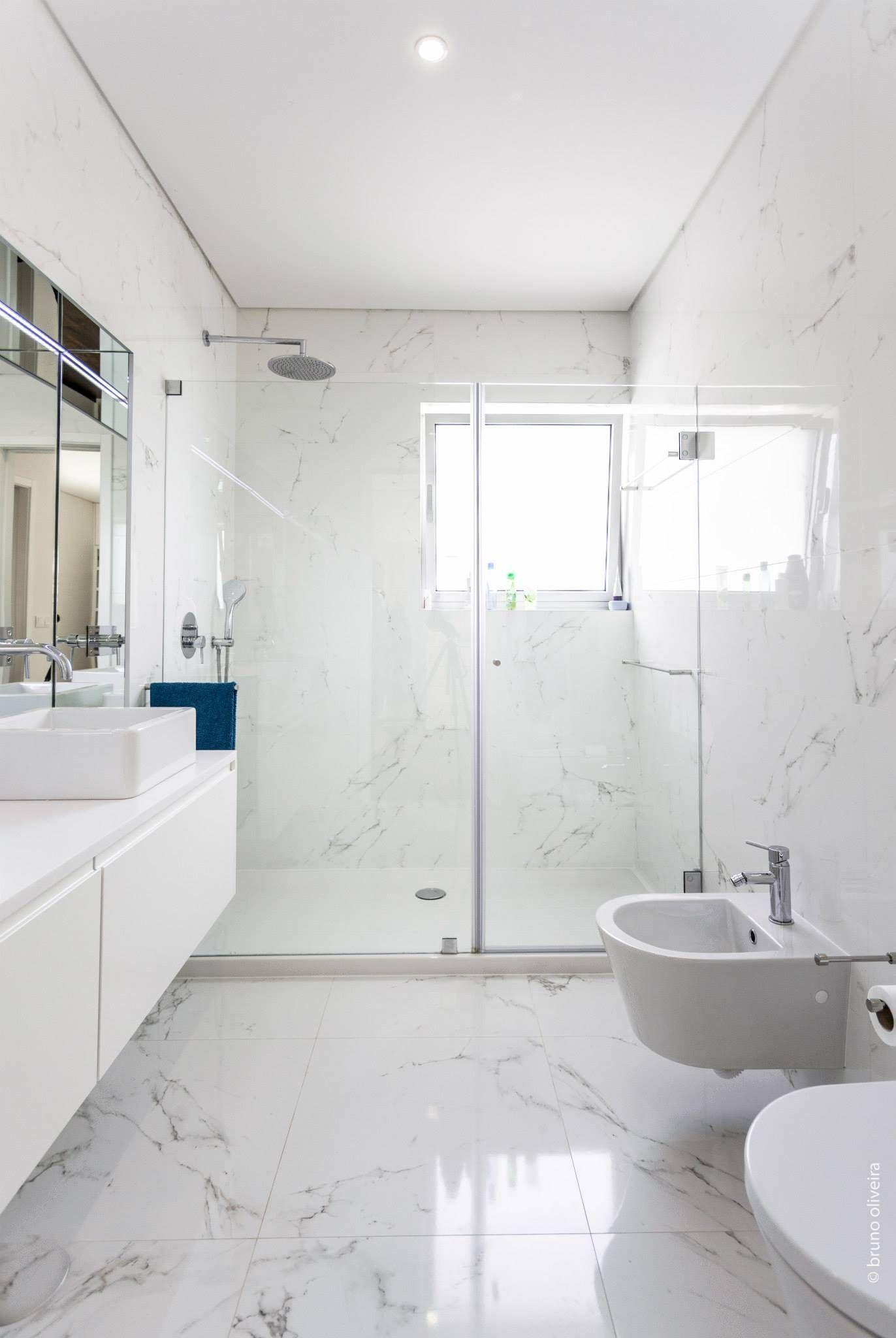 Casas de banho por de 2019 Decor Casas de banho modernas, Ideias para casas de banho e Casa  # Decoração De Casas De Banho Em Azul