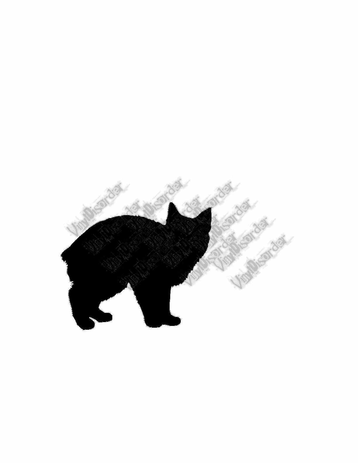 Chinese Crested Dog Wall Decal Custom Vinyl Decal Vinyls Cats - Custom vinyl wall decals cats
