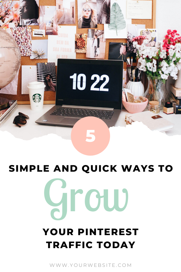 How To Grow Your Pinterest Views Blogging Advice Blogging Groups Blog Topics