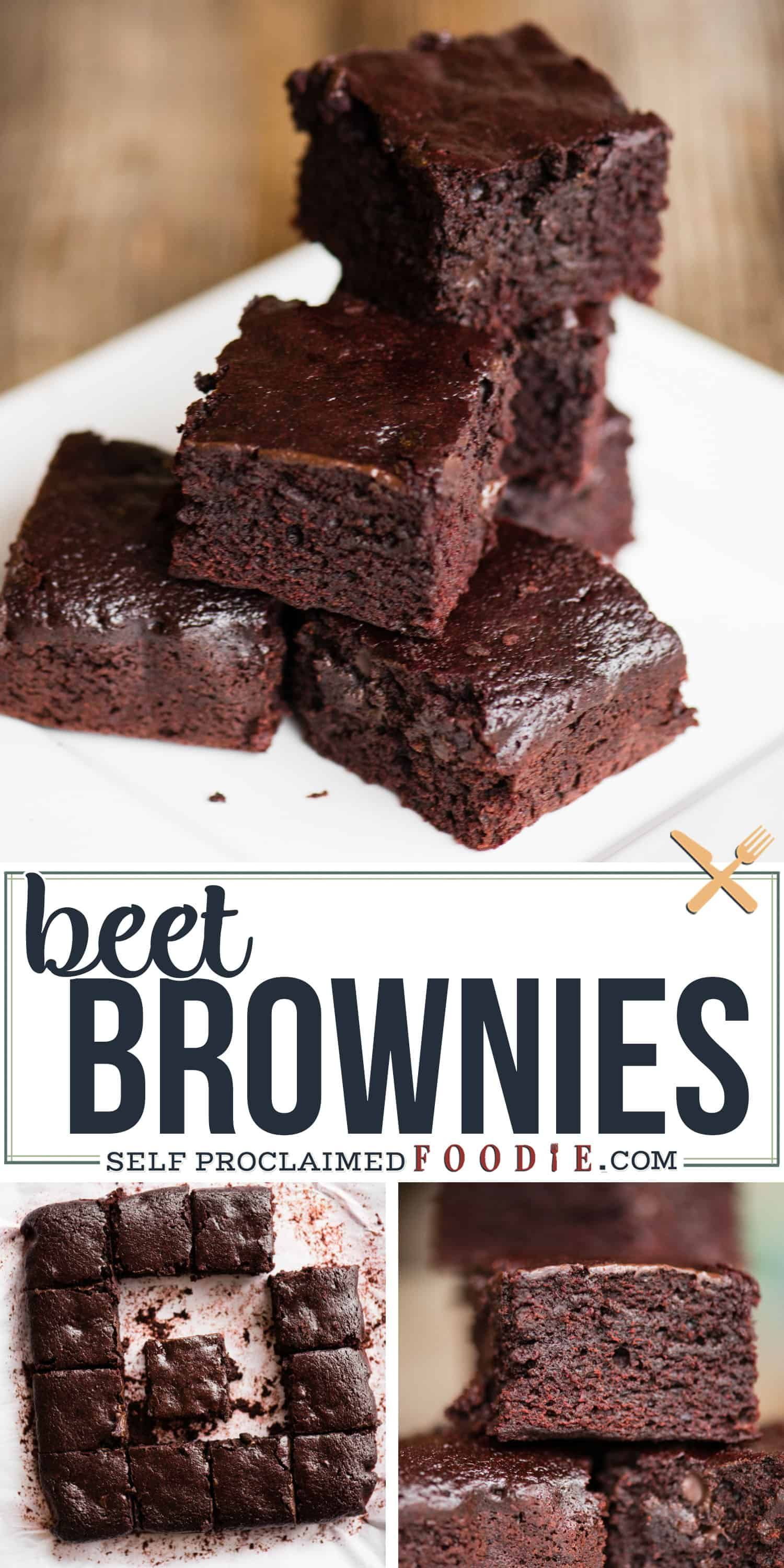 Beet Brownies Are Made With My Decadent Brown Butter Brownie Recipe And Have A Buttermilk Beet Pure Brownie Recipes Low Carb Recipes Dessert Yummy Food Dessert
