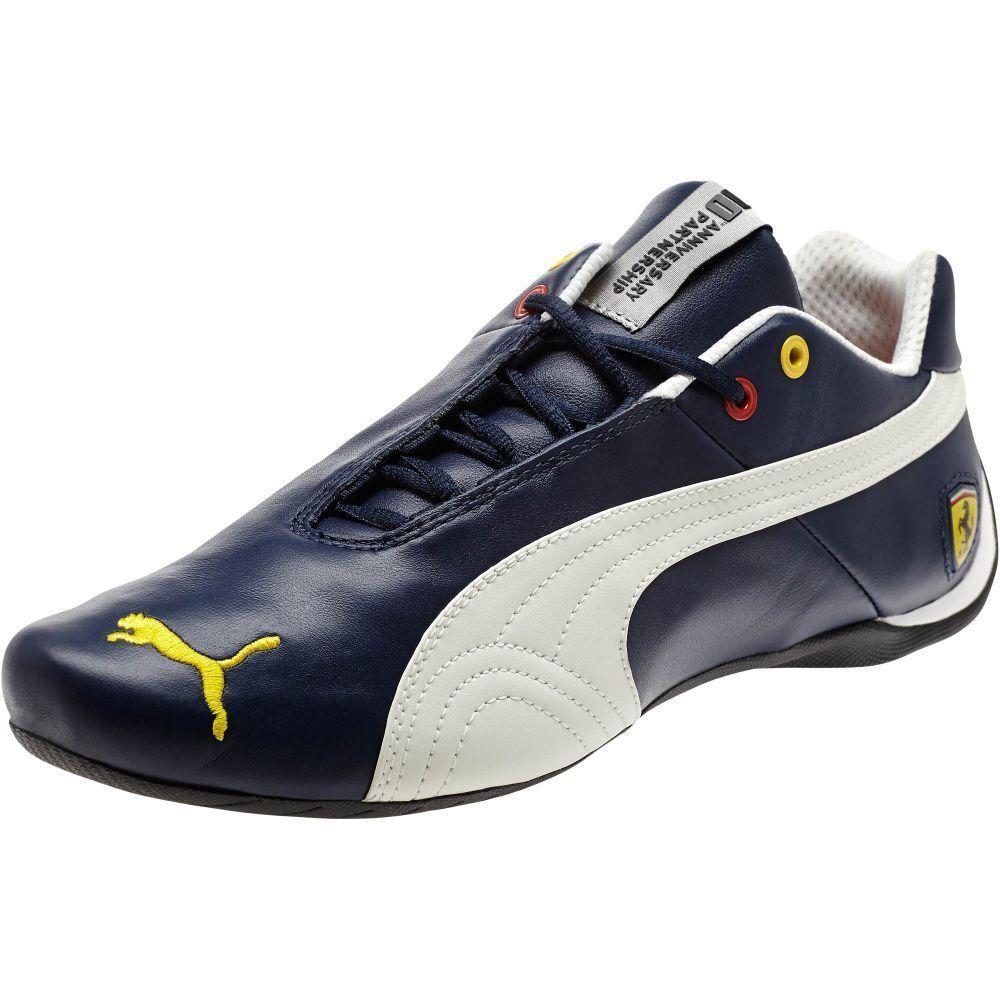 Puma Ferrari Future Cat 10 Leather Men S Shoes Mens Training Shoes Motorsport Shoes Leather Men