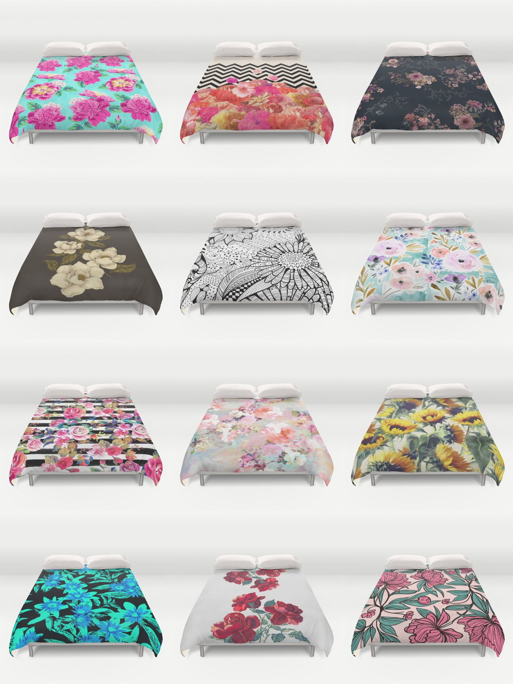 Shop unique and original duvet covers on Society6