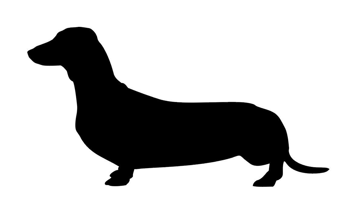 Dachshund Silhouette For Your 1950s Skirts Saw A Vintage 50s Skirt