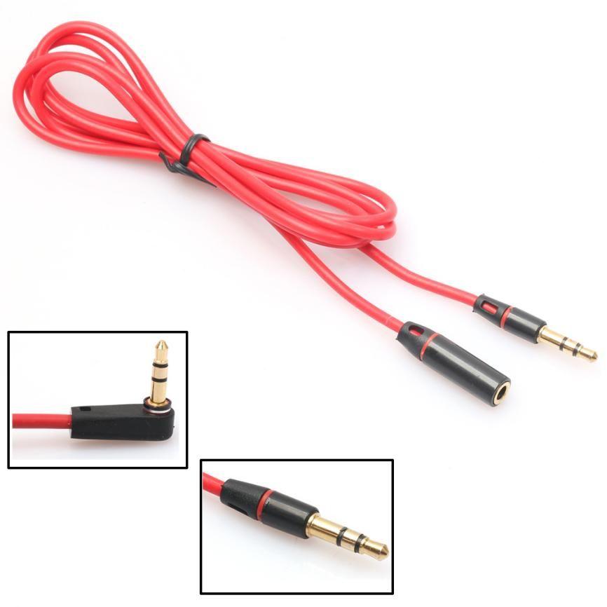 CEL 3.5mm Macho a Hembra Estéreo Cable de Audio Aux Cable de Extensión de Auriculares 1.2 m SEP06