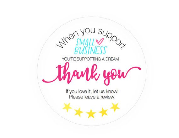 Etsy Review Stickers Leave A Review Shipping Happy Mail Etsy Business Stickers Business Thank You Cards Small Business Quotes