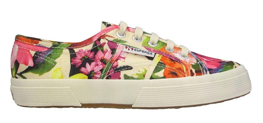 Floral Superga sneakers - Essentials