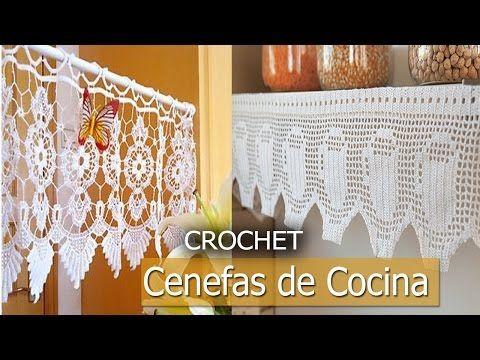 Como hacer tu cortina para tu ventas tejidas a crochet imagenes youtube cortinas - Youtube videos de cocina ...