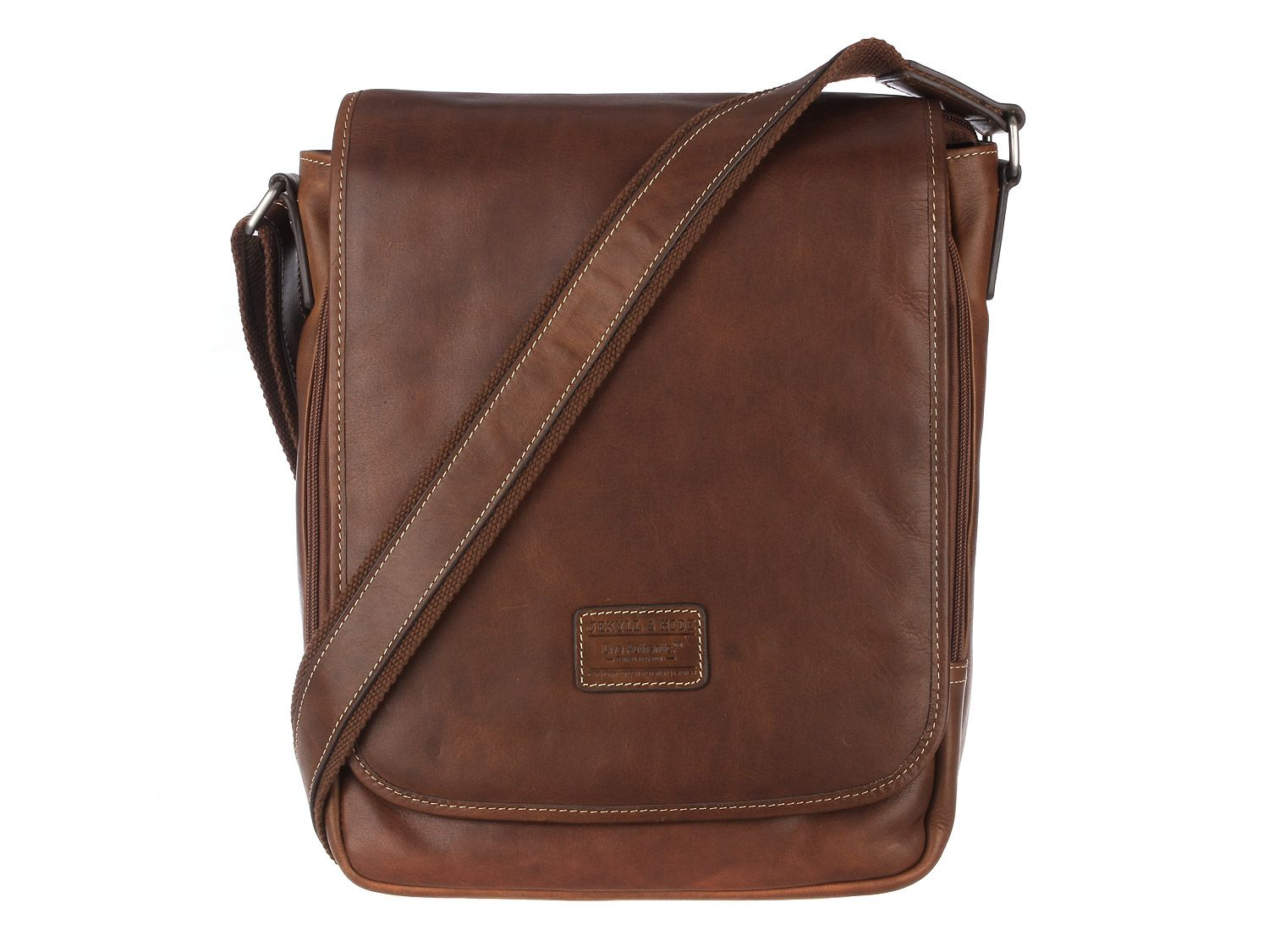 a85f02b1a3fb Jekyll   Hide  Texas  Mud Vintage Leather iPad Despatch Bag