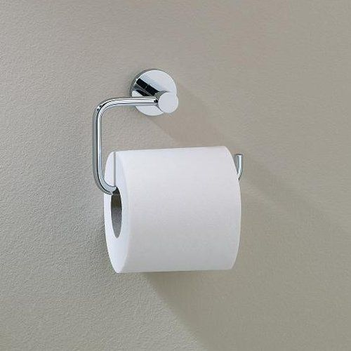 Valsan 67524es Porto Roll Without Lid Toilet Tissue Holder Bath Fixtures Toilet Paper Holder Toilet Roll Holder