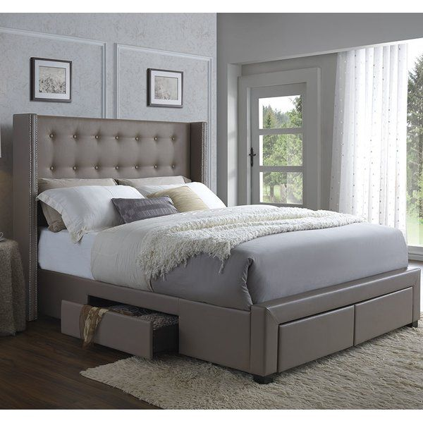 You\u0027ll love the Thousand Oaks Storage Platform Bed at Wayfair