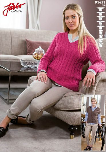 Photo of 91431. BASIC GARMENT WITH RAGLAN FOR DAM | mohair knitting patterns free jumpers…