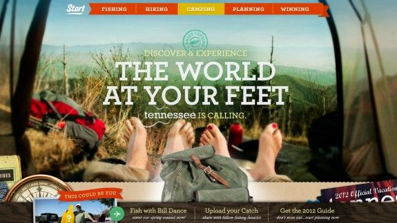 Travel website: Tennessee Spring