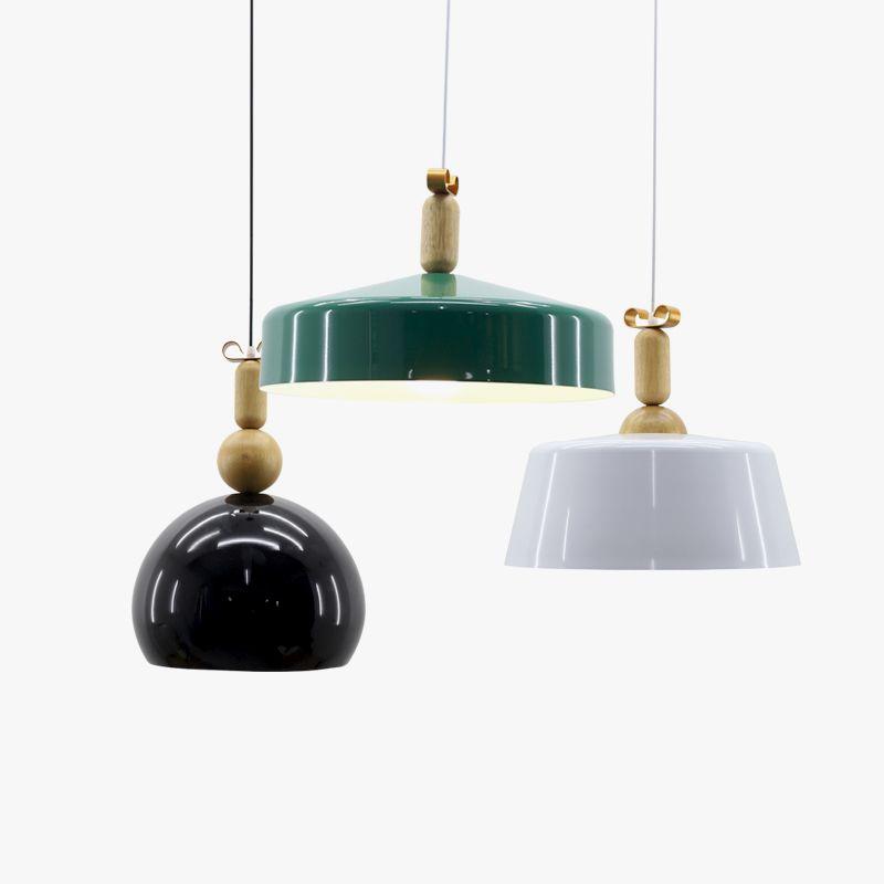 Simple stylish pendant lights nordic aluminum wood lampshade simple stylish pendant lights nordic aluminum wood lampshade hanging lighting ac110v220v e27 mozeypictures Images
