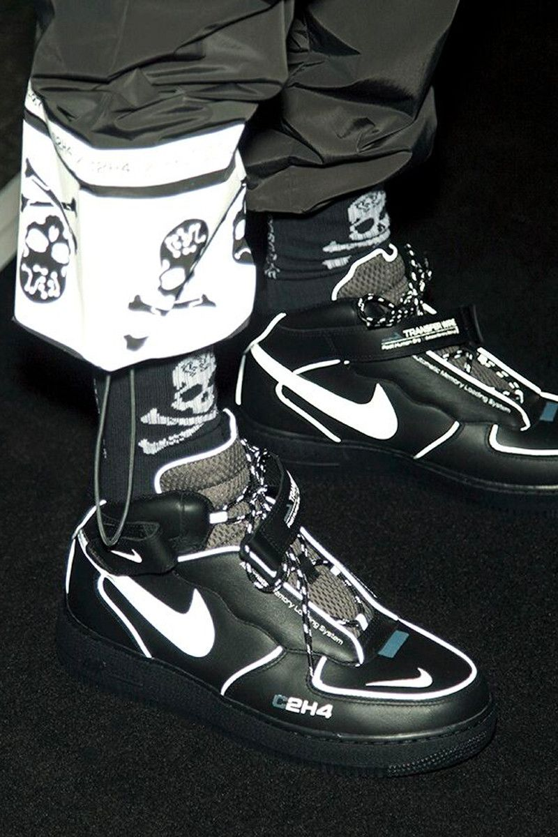 03bd02929d5f C2H4 Fall Winter 2019 mastermind JAPAN Collaboration Reveal Runway  Presentation Show Nike Air Force 1 London Fashion Week Men s mid sneaker  release date pre ...