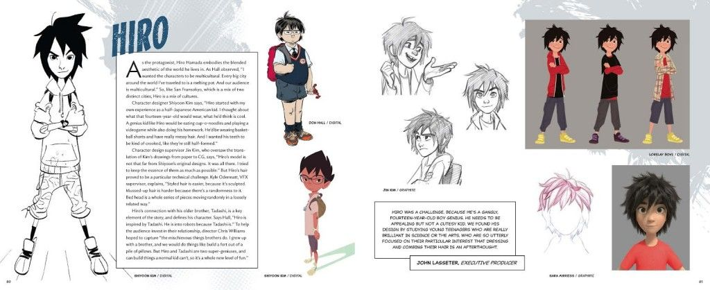 Character Design Book Pdf : Page hiro art of big hero the