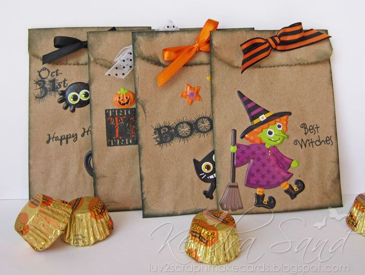 Treat Bag Ideas Hobby Lobby That I Thought Would Add The Perfect Touch To These Bags