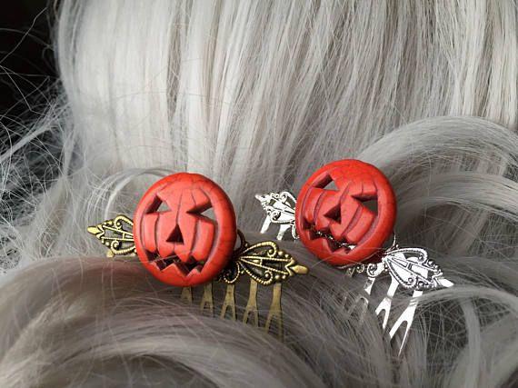 Halloween Pumpkin Accessories.Pumpkin Costume Hair Comb Halloween Pumpkin Hair Bow Pumpkin Etsy Halloween Hair Bows Autumn Hair Accessories Halloween Pumpkins