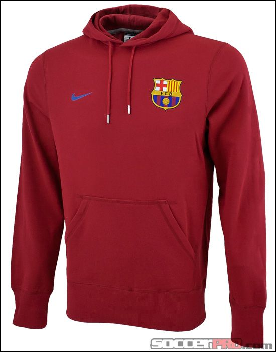 5922c61556 Nike Barcelona Core Hoodie - Storm Red with Storm Blue... 49.99