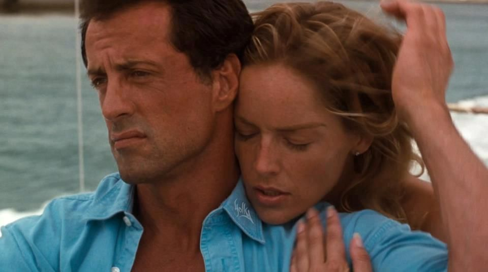 Sylvester Stallone Sharon Stone In The Specialist 1994 Sylvester Stallone Sylvester Sharon Stone