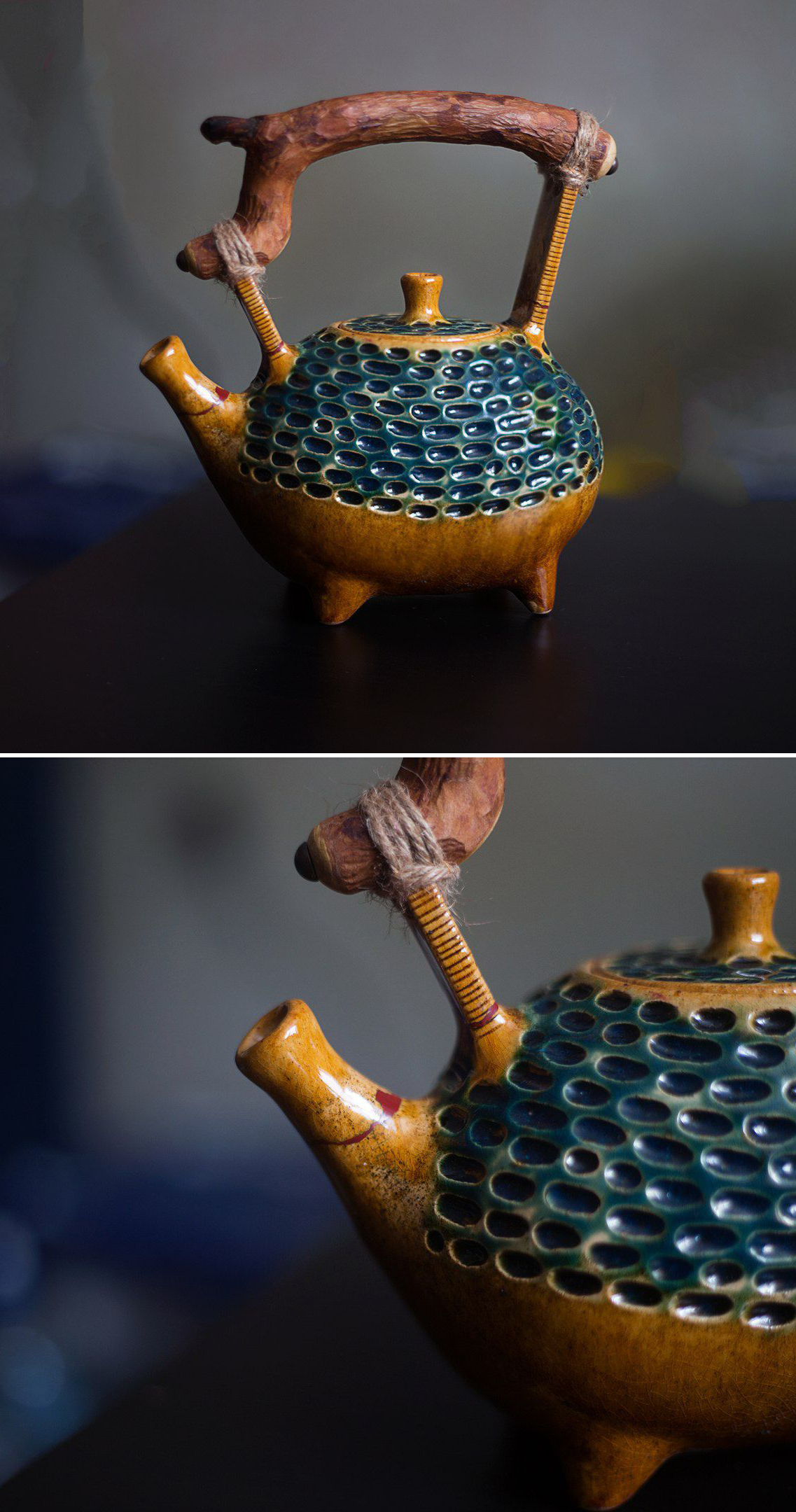 Ceramic Tea Pot | Чайник Фасолина — работа дня на Ярмарке Мастеров #teapotset