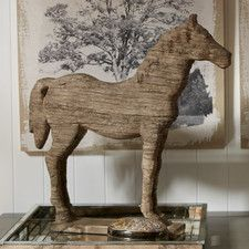 Wesley Horse Table Decor Statue