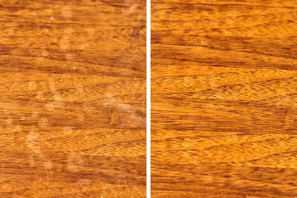 5 ways to fix water stains on wood tables and 1 method