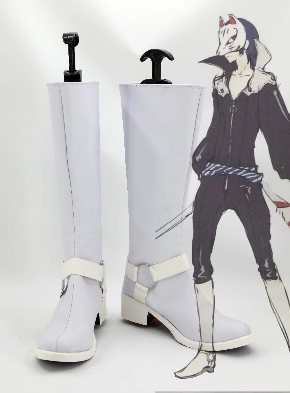Persona 5 Yusuke Kitagawa Cosplay Boots Anime Shoes Custom Made