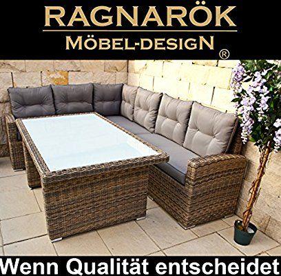 polyrattan ecklounge deutsche marke -- eignene produktion -- 8 ... - Gartenmobel Lounge Polyrattan