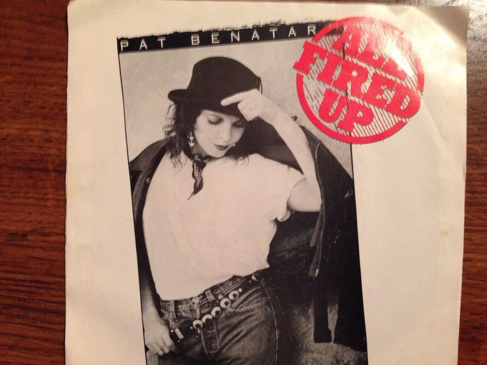 Pat Benatar: ALL FIRED UP / COOL ZERO #1980s