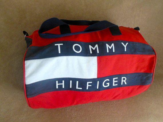 TOMMY HILFIGER Duffle Bag By Tommy Skinsvintagefashion 3400