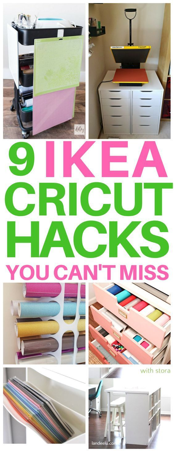 9 Genius Cricut Ikea Hacks for Crafters images