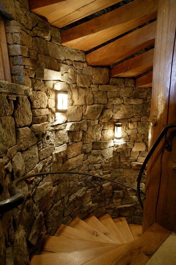 Basement Bar Ideas Man Caves Brick Walls