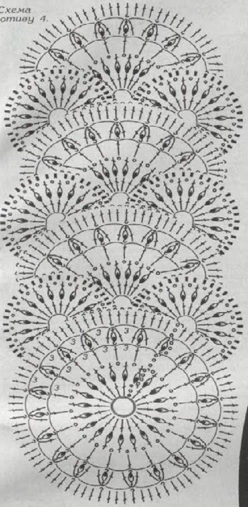 Узоры для вязания крючком. | DELICADEZAS | Pinterest | Ganchillo ...