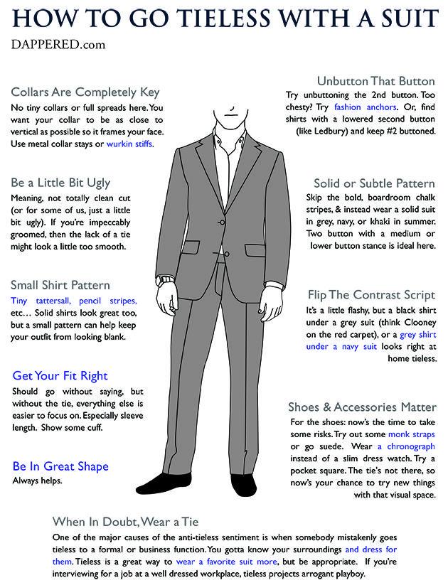 f7a47d160f1df1 How To Wear a Suit Without a Tie   Man Style   Suit fashion, Suits ...