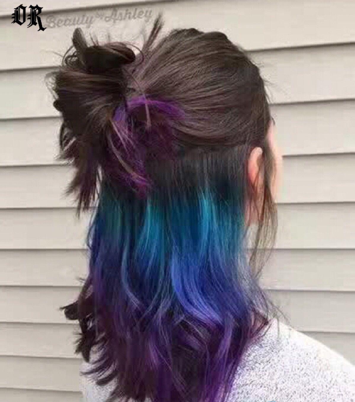 21 Medium Length Hairstyles For Women Hidden Hair Color Galaxy