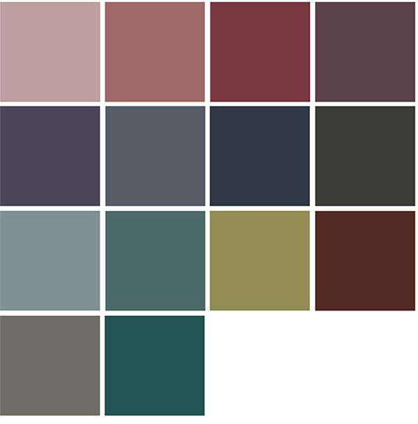 4 color trends 2018 by dulux australia farbe 2018 - Farbmuster wandfarbe ...