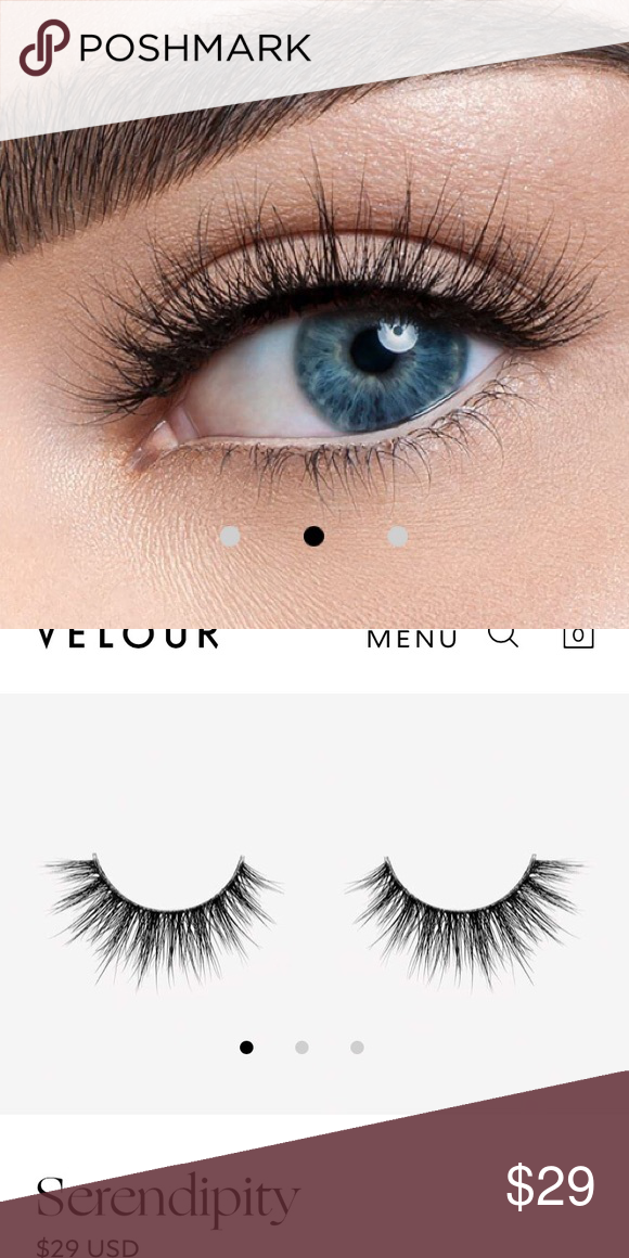 f03a1180b73 New Velour Lashes Serendipity 100% Mink Lash Amazing things can happen when  you least expect